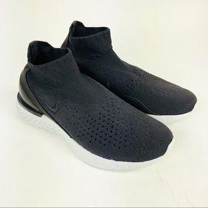 Nike Rise React Flyknit Shoes Thunder Grey Mens 6